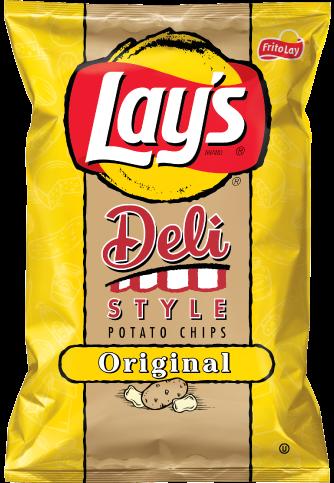 Potato Chips, Lay's® Deli Style Potato Chips (7.75 oz Bag)