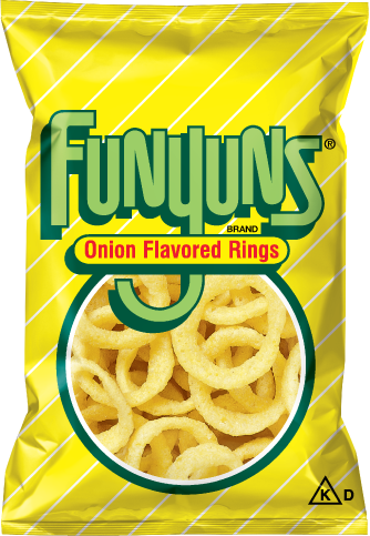 Onion Rings, Funyuns® Onion Flavored Rings (6 oz Bag)