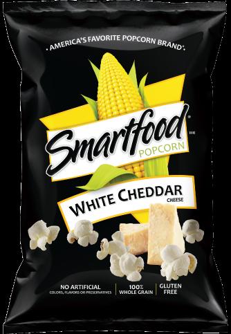 Popcorn, Smartfood® White Cheddar Popcorn (8.5 oz Bag)