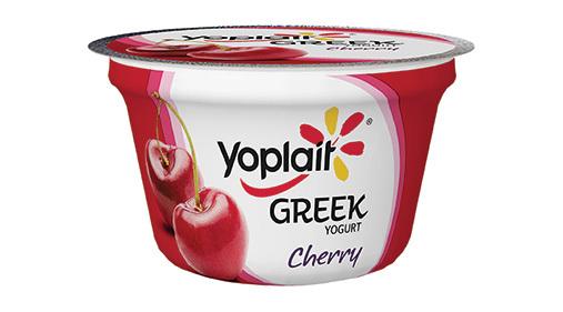 Yogurt, General Mills® Yoplait® Greek Yogurt, Cherry