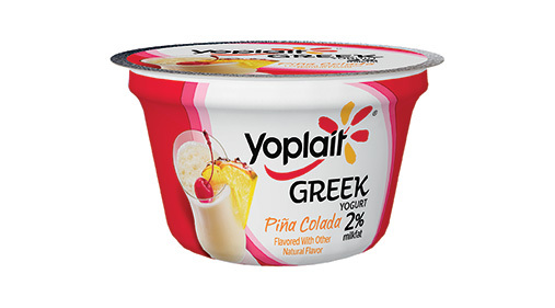Yogurt, General Mills® Yoplait® Greek 2% Yogurt, Piña Colada