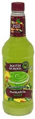 Drink Mixer, Master Of Mixes® Margarita Mix (1 Liter Bottle - 33.8 oz)