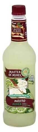 Drink Mixer, Master Of Mixes® Mojito Mix (1 Liter Bottle - 33.8 oz)