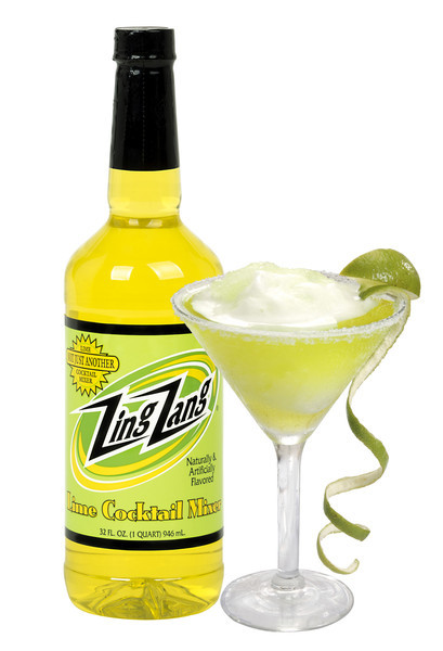 Drink Mixer, Zing Zang® Lime Cocktail Mix (32 oz Bottle)