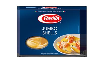 Pasta, Barilla® Jumbo Shells Pasta (16 oz Box)