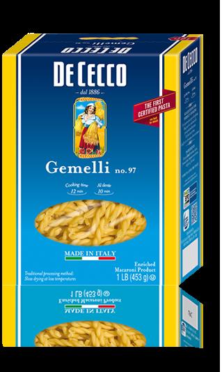 Pasta, De Cecco® Gemelli Pasta, 16 oz Box