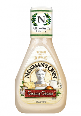 Salad Dressing, Newman's Own® Creamy Caesar Salad Dressing (16 oz Bottle)