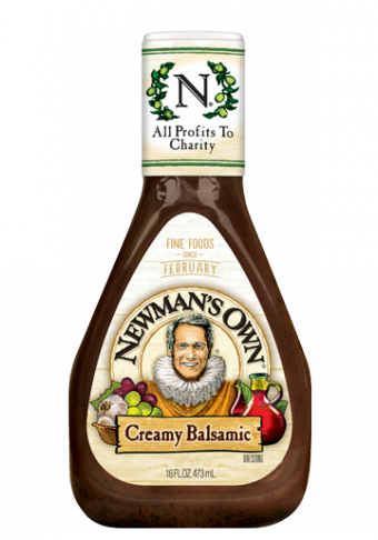 Salad Dressing, Newman's Own® Creamy Balsamic Salad Dressing (16 oz Bottle)