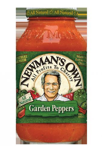 Pasta Sauce, Newman's Own® Garden Peppers Pasta Sauce (24 oz Jar)