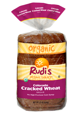 Loaf Bread, Rudi's® Colorado Cracked Wheat Bread (22 oz Bag)