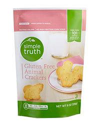 Animal Crackers, Simple Truth™ Gluten Free Animal Crackers (8 oz Bag)