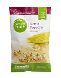 Popcorn, Simple Truth Organic™ Kettle Popcorn (7 oz Bag)