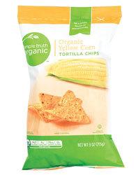 Tortilla Chips, Simple Truth Organic™ Yellow Corn Tortilla Chips (9 oz Bag)
