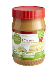 Organic Peanut Butter, Simple Truth Organic™ Creamy Peanut Butter (16 oz Jar)