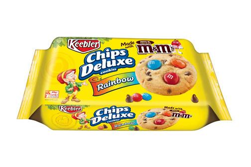 Cookies, Kellogg's® Keebler® Chips Deluxe® Rainbow M&M Cookies (11.3 oz Bag)
