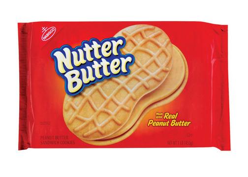 Sandwich Cookies, Nabisco® Nutter Butter® Sandwich Cookies (16 oz Bag)