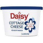 Cottage Cheese, Daisy® 4% Lowfat Cottage Cheese (16 oz Cup)