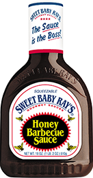BBQ Sauce, Sweet Baby Ray's® Honey BBQ Sauce (18 oz Bottle)