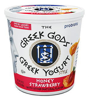 Yogurt, The Greek Gods® Honey Strawberry Yogurt (24 oz Cup)