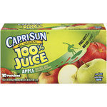 Apple Juice, Capri Sun® 100% Apple Juice, Single 6 oz Packet