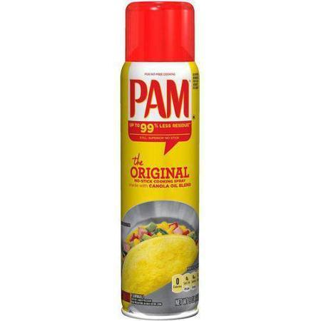Cooking Spray, Pam® Original Cooking Oil Spray (6 oz Spray Can)
