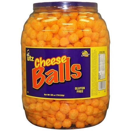 Snack Food, Utz® Cheese Ball Barrel (28 oz Barrel)