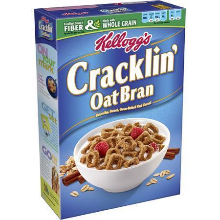 Cereal, Kellogg's® Cracklin' Oat Bran™ (17 oz Box)