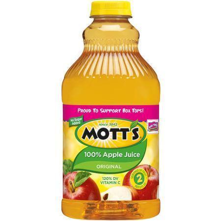 Apple Juice, Mott's® 100% Apple Juice (64 oz Bottle)