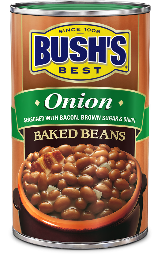 """Canned Beans, Bush's® """"Onion"""" Baked Beans (28 oz Can)"""