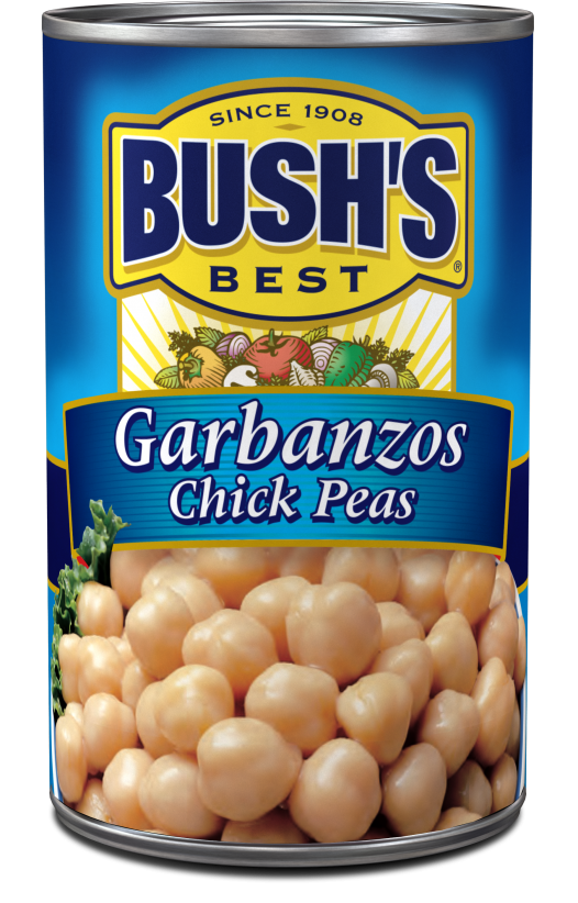 Canned Garbanzo Beans, Bush's® Garbanzo Beans (16 oz Can)