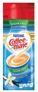 Coffee Creamer, Coffee-Mate® French Vanilla, Sugar Free (32 oz Bottle)
