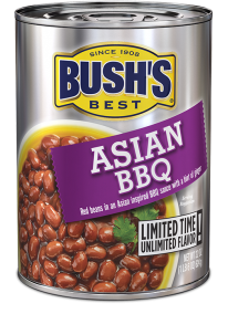 Canned Beans, Bush's® Asian BBQ® Beans (22 oz Can)