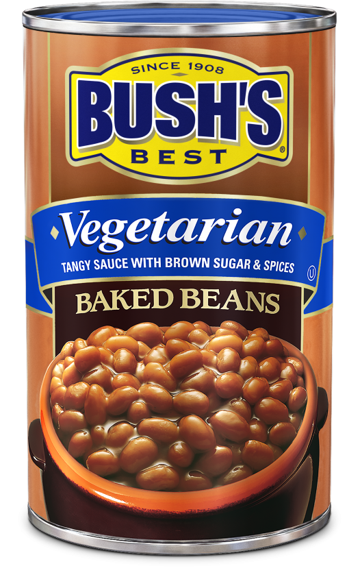 "Canned Beans, Bush's® ""Vegetarian"" Baked Beans (16 oz Can)"