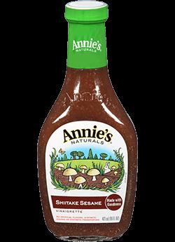Salad Dressing, Annie's® Shiitake Sesame Salad Dressing, Organic (8 oz Bottle)