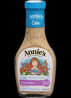 Salad Dressing, Annie's® Goddess Salad Dressing, Lite (8 oz Bottle)