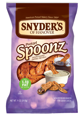 Pretzels, Snyder's® Spoonz, 16 oz Bag