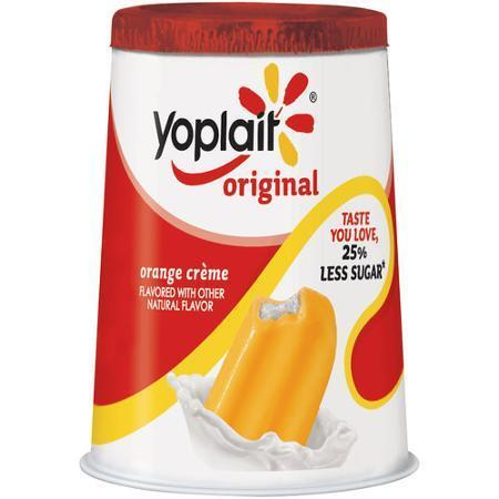 Yogurt, Yoplait® Original Orange Creme Yogurt (6 oz Cup)