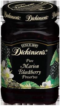 Fruit Spread, Dickinson's® Marion Blackberry Preserves (10 oz Jar)