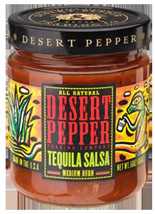 Salsa, Desert Pepper® Gluten Free Medium Tequila Salsa (16 oz Jar)