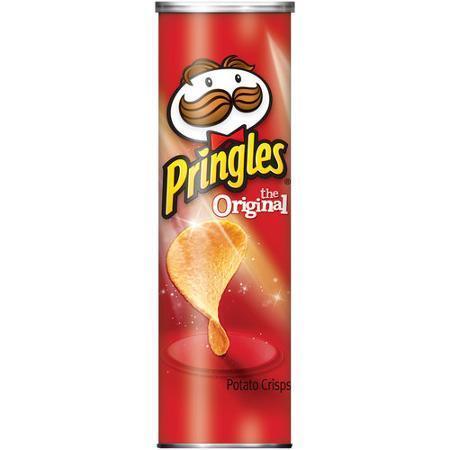Potato Chips, Pringles® Original Potato Chips (5.68 oz Can)