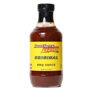 BBQ Sauce, Brothers BBQ® Original BBQ Sauce (18 oz Bottle)