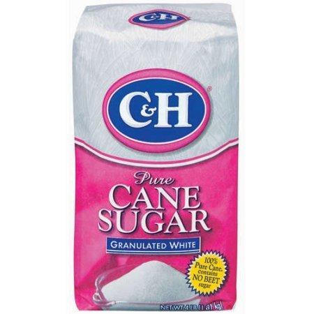 Sugar, C&H® Granulated Sugar (4 pound Bag)
