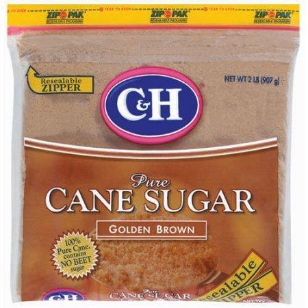 Sugar, C&H® Pure Cane Sugar, Golden Brown