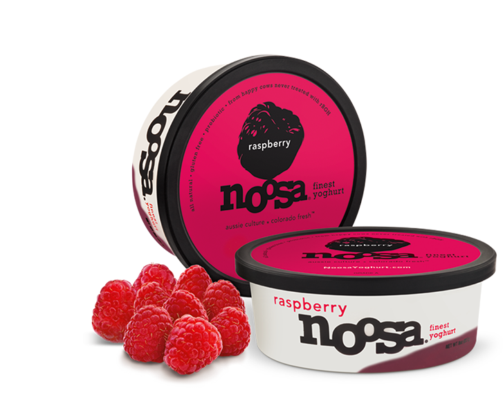 Yogurt, Noosa® Raspberry (8 oz Tub)