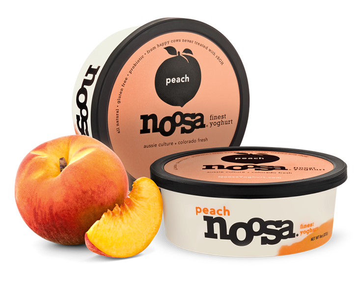 Yogurt, Noosa® Peach (8 oz Tub)