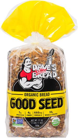Loaf Bread, Dave's Killer Bread® Good Seed (27 oz Bag)