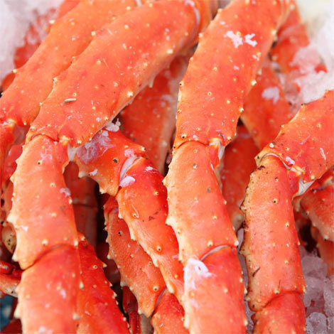 Fresh Seafood, Alaskan Golden King Crab Legs, Priced per Pound