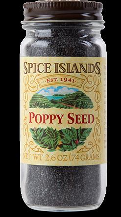 Seasonings, Spice Islands® Poppy Seed (2.6 oz Jar)