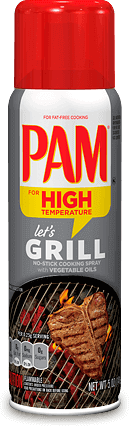 Cooking Spray, Pam® Cooking Oil Spray for Grilling (5 oz Spray Can)