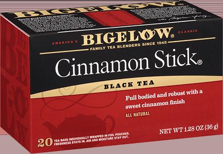 Tea, Bigelow® Black Tea, Cinnamon Stick® 1.28 oz Box (20 Bags)